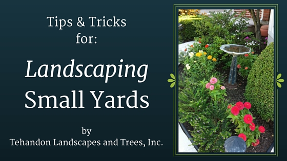 Landscaping Small Yards – Tips & Tricks